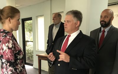 A Visit from Congressman Drew Ferguson