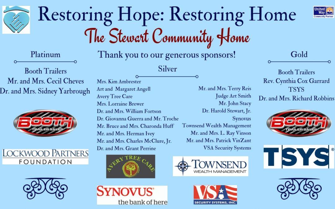 Restoring Hope: Restoring Home Gala 2018