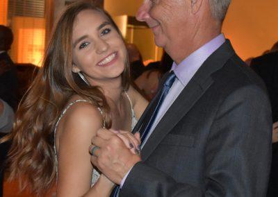 Dr. Bill & Ms. Emma Fortson enjoying the Gala