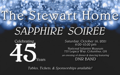 Save the Date! Sapphire Soirée, Oct 16, 2021